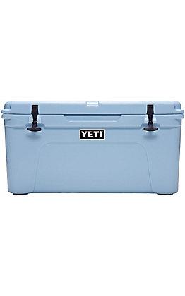 Yeti Ice Blue Tundra 65 Cooler