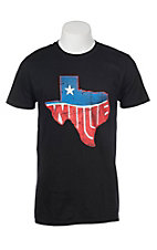 Zion Rootswear Men's Black Willie Texas Short Sleeve T-Shirt